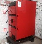 Твердотопливный котел Metal-Fac RED LINE PLUS 10 кВт