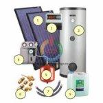 Комплекты солнечных водонагревательных установок KOSPEL
