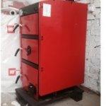 Твердотопливный котел Metal-Fac RED LINE PLUS  30 кВт