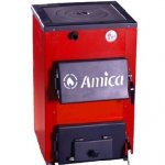 Твердотопливный котел с плитой Amica Optima P 18 кВт